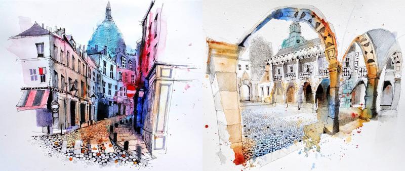 Kompakt: Sketching Vienna