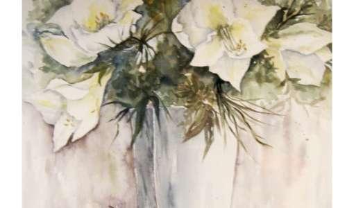 Neue Techniken in der Blumen-Aquarellmalerei