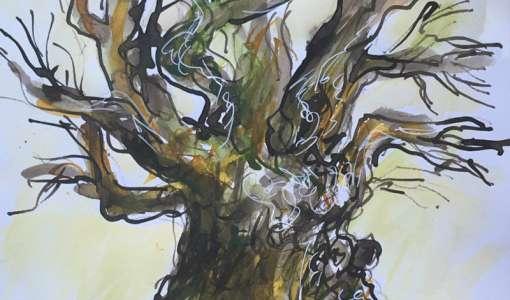 Reihe Zeichnen & Malen: Tusche, Tinte und Feder für Landschaft und Bäume