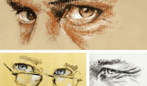 Das ausdrucksstarke Auge