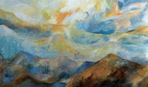 Mit Mut und Lust zu realen und abstrakten Landschaften